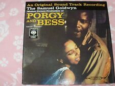 PORGY AND BESS SOUNDTRACK CBS RECORDS VERY GOOD CONDITION