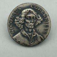 Vintage Astronomer Nicolaus Copernicus Lapel Pin  Q3