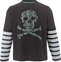 BOYS LONG SLEEVE APPLIQUE TOP FROM EMMA BUNTON COLLECTION BNWT AGES 2 TO 7 YEARS
