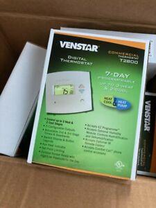 (6 Pack / Bulk Deal) Venstar T2800 Commercial Thermostat NEW