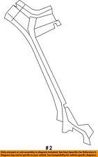 FORD OEM F-350 Super Duty-Winshield Pillar Reinforcement Right GC3Z2502504A