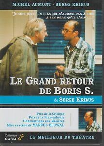 Theatre Coll. Copat Dvd Le Grand Retour De Boris S. Michel Aumont Serge Kribus