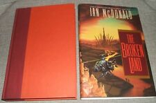 1992 First edition of The Broken Land by Ian McDonald Collectible Copy