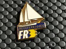 pins pin BADGE MEDIA FRANCE 3 FR3 VOILIER TRIMARAN ARTHUS BERTRAND
