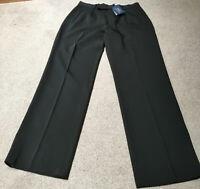 Womens Ralph Lauren Wool Trousers Black Size uk 6-BNWT