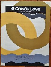 O GOD OF LOVE, O GOD OF MERCY Sheet Music Oboe, Keyboard, Voice   Church Choir