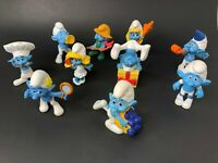 Mcdonalds Smurfs Collection lot of 10