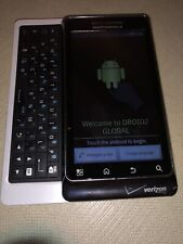 Motorola Verizon Droid A956 White QWERTY Android Touch-Screen Smart Phone