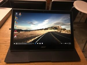 """Acer aspire R7-372T i5-620U 2.4 Ghz 8 Gb 256 SSD 13.3"""" FHD TOUCH Laptop"""