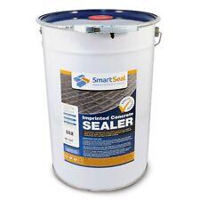 Smartseal Imprinted Concrete Sealer - SILK FINISH - 25 Litre
