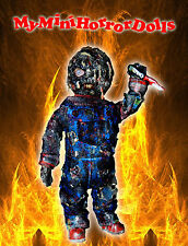 "7'' ACTION FIGURE ""BURNT CHUCKY"" POSEABLE MINIATURE KILLER DOLL- CHILD'S PLAY"