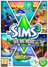 LES SIMS 3 ÎLE DE RÊVE / JEU PC & MAC / NEUF SOUS BLISTER D'ORIGINE / VF