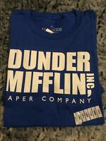 The Office DUNDER MIFFLIN Men's Larg T-Shirt NEW Licensed & Official