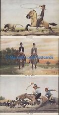ARGENTINA MOLINA CAMPOS ??? VERY RARE SET GAUCHO SET OF 27 POSTCARDS + ENVELOPE