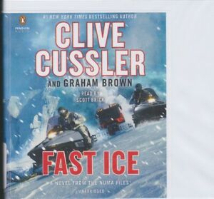 FAST ICE by CLIVE CUSSLER ~ UNABRIDGED CD AUDIOBOOK