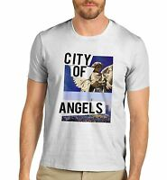 Men's City Of Angels Graphic Print T-Shirt