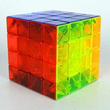 4x4x4 Speed Magic Cube Twist Puzzle Fancy Toys Transparent Rainbow GIFT