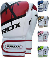 RDX Boxing Gloves Punching Bag Training - Muay Thai Fighting Sparring Kickboxing