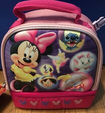 Disney Store Lunch Box NWT  Has Backpack Clips To Clip To