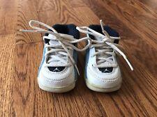 Nike Air Jordan Baby Infant Blue White Retro Tennis Shoes Carolina Blue 2 C