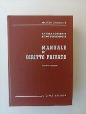 Andrea Torrente - Manuale di Diritto Privato - Giuffrè 1978
