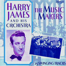 Harry James - The Music Makers 23 Swinging Tracks BRAND NEW SEALED CD Big Band