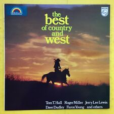 The Best Of Country et Ouest - PHILIPS rdl-1543 EX+ état Vinyle LP