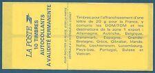 Carnet Sagem 10 timbres Briat TVP rouge autoadhésif N°2874-C4 neuf**