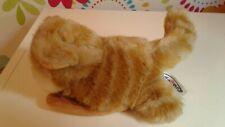 Rare Mary Meyer Ginger Tabby Cat Hand Finger Puppet Plush Soft Toy