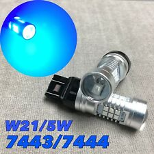 Front Signal Parking Light ICE BLUE SMD CANBUS LED Bulb T20 7443 7444 CK W1 JAE
