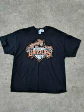 Fresno Grizzlies Gildan Mens Graphic T-Shirt Black Preshrunk Cotton Tee 2XL New