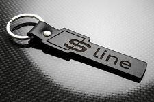 Audi S-Line Leather Keyring, Keychain, Schlüsselring, Porte-clés A1 A3 A4 A5 A6