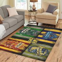 Sweet Home Modern Harry Potter Hogwarts Area Rug Indoor Soft Carpet
