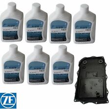 For BMW E70 F15 X5 F25 X3 F01 740i F10 528i Auto Trans Filter Kit 7 Liter ATF ZF