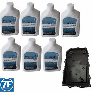 For BMW E70 F15 X5 F25 X3 F01 Automatic Transmission Filter Kit 7 Liters ATF ZF