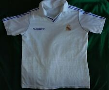 Real Madrid 1989-1990 vintage football shirt camiseta Hummel Jersey trikot