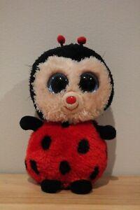Ty Beanie Boo - Bugsy the Ladybug - 15cm/6 inch (Regular)