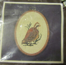 Wildlife Collection Counted Cross Stitch Kit by Nancy Fields