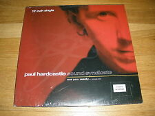 """PAUL HARDCASTLE sound syndicate Are You Ready 12"""" Single Record - Sealed"""