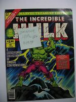 Vintage Oversize Marvel Treasury Edition Comic Book INCREDIBLE HULK 17 VF+
