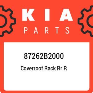 87262B2000 Kia Coverroof rack rr r 87262B2000, New Genuine OEM Part