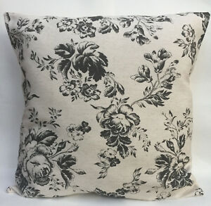 Cabbages & Roses Paris Black Designer Cushion Cover all sizes inch