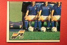 Panini EURO 88 N. 74 ITALIA TEAM WITH BACK VERY GOOD/MINT CONDITION