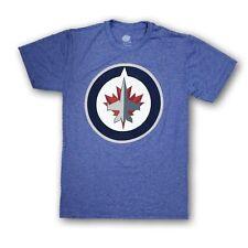 NHL Winnipeg Jets Men's Size Small Light Blue Short Sleeve Shirt New Without Tag