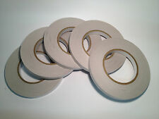 5 Rolls Of Double Sided Adhesive Tape 12mm x 50mtrs