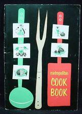 METROPOLITAN COOK BOOK 1953 Life Insurance Food Recipe Cooking Booklet Vintage