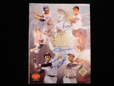 Ted Williams Museum 5th Anniversary Yearbook - 32 Autographs! - B&E Loa