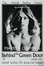Behind the green door erotic cult movie poster print
