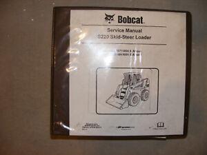 Bobcat S220  Skid Steer Loader Service Manual