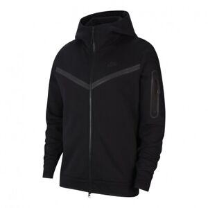 Nike Tech Fleece Full Zip Windrunner Hoodie Black CU4489-010 Men's Winter Jacket